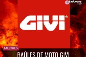 Baúles, alforjas y maletas Givi: Modelos, opiniones y precios