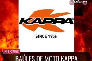 Baúl Kappa para moto: Precios, modelos y opiniones