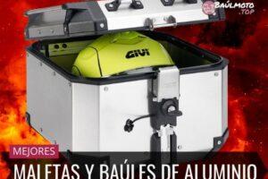 Mejores Maletas y Baúles de Aluminio para Moto